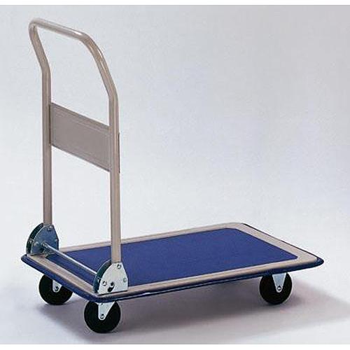 Vozik PH158, plošinový, oceľový, max. 100 kg