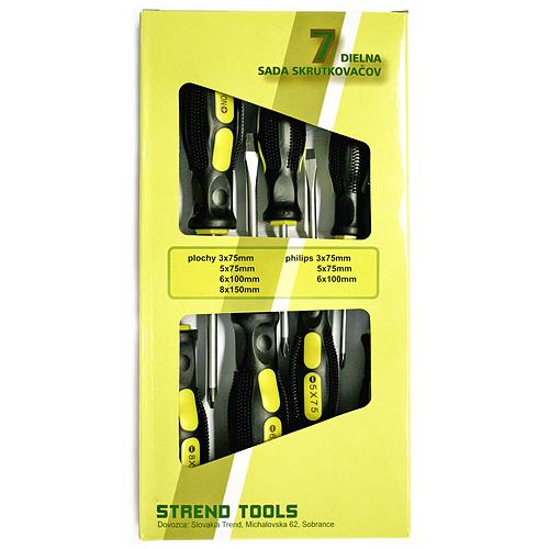 Sada skrutkovačov Strend Pro SD0004, 7 dielna 4(-) 3(+)