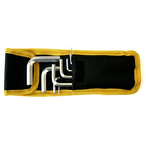 Sada kľúčov Strend Pro HK0196, 10 dielna, Hex, zástrčná, Imbus s guličkou