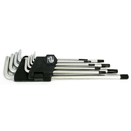 Sada kľúčov Strend Pro HK0259, 9 dielna, T10-T50, Torx, zástrčná