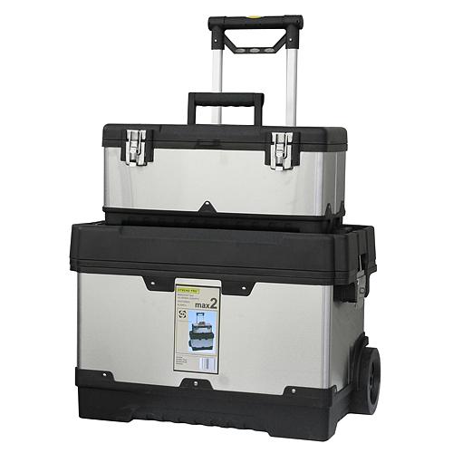 Box HL3042-L, max2, 620x370x500 mm, nerezový, max. 35