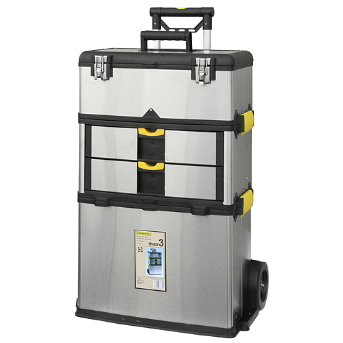 Box STREND PRO TBx3042-F, max3, 570x350x830 mm, nerezový, nosn. 36 kg