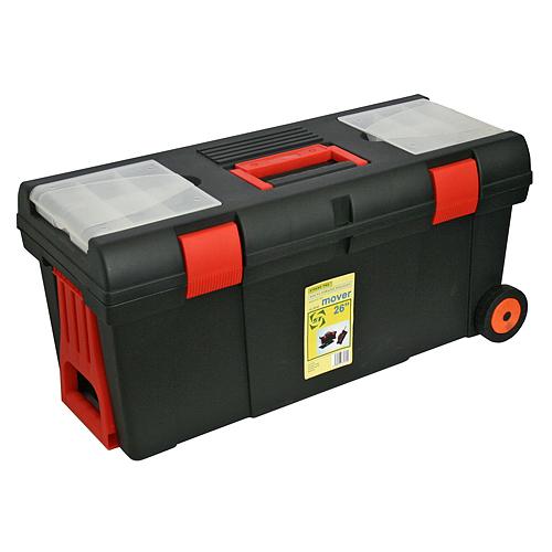 Box HL3050, výsuvná rukoväť, na kolieskach, max. 15 kg