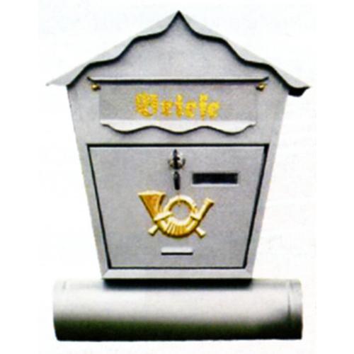 Schránka Pošta 45x37x10cm, biela