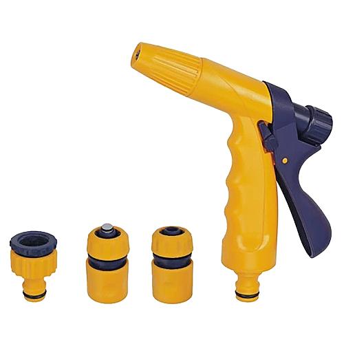 Pistol DY2321, záhradná, zavlažovacia, spojka, STOP spojka, adaptér