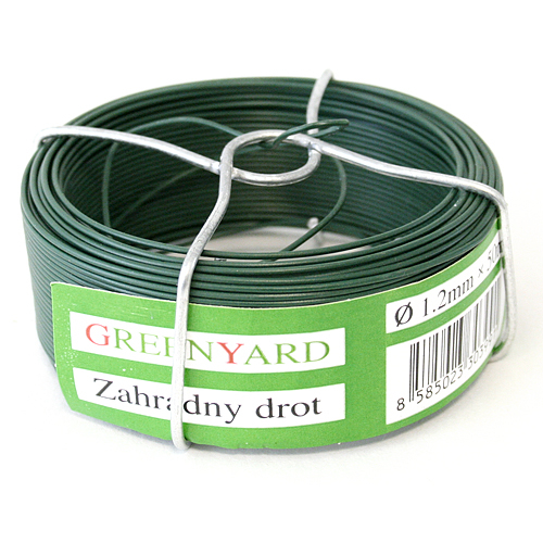 Drot Garden Wire Pvc 1,20 mm, L-50 m, SC, cievka
