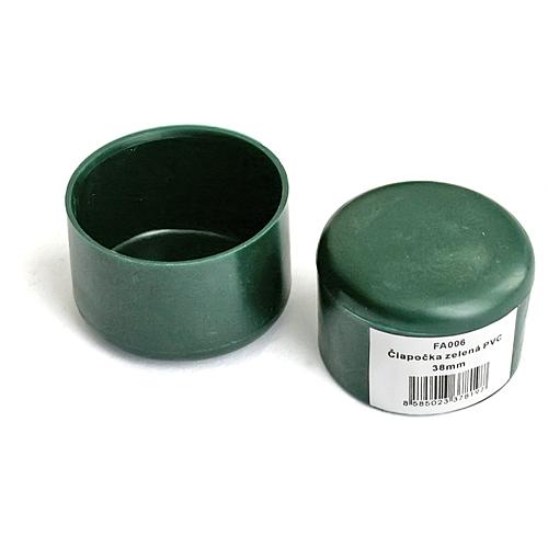 Ciapka METALTEC 38 mm, plastová, zelená