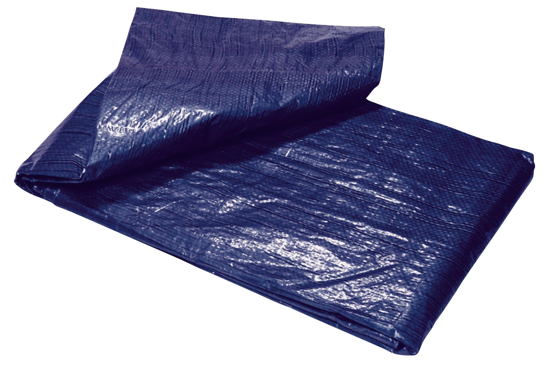 Plachta Tarpaulin Standard 10x15, prekrývacia, 80 g/m2, modrá
