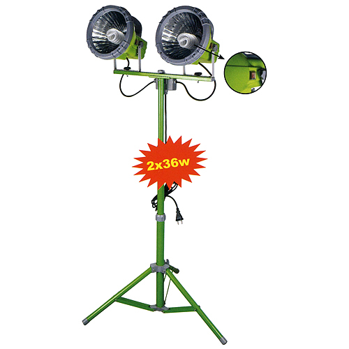 Svetlomet Worklight eSave 0501325, 2x36W, 230V, L-5 m, 3pod 1.8 m