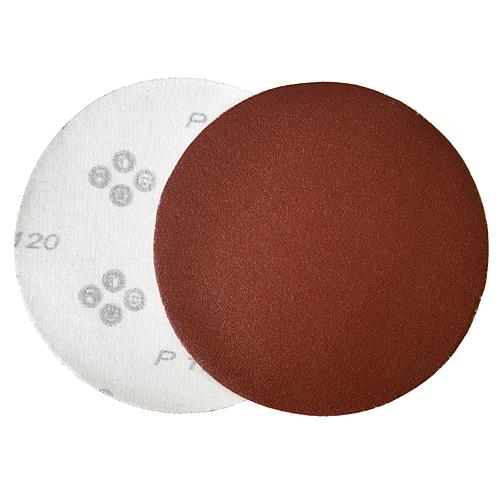 Vysek KONER D30 125 mm, P150, brúsny, okrúhly, AluOxide