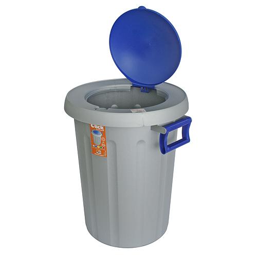Kos na odpad ICS C574025, 25 lit, šedý, Click2Recycle