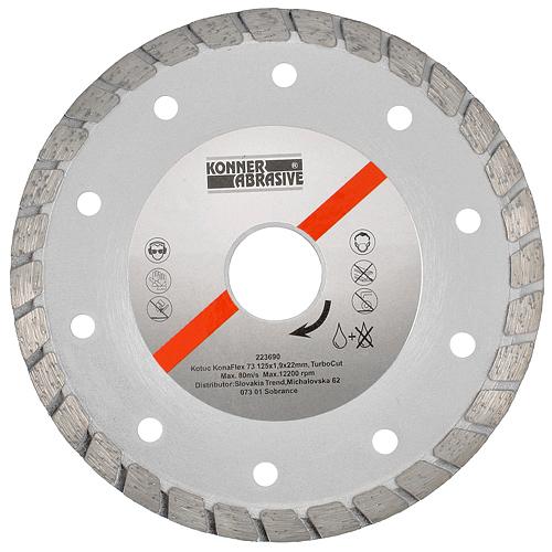 Kotuc diamantový KonaFlex 73 150x1,9x22 mm, TurboCut