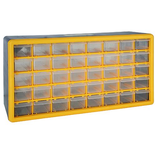 Organizer STREND PRO SBx3045-F, 40 zásuvkový, 500x160x250 mm, max. 25 kg