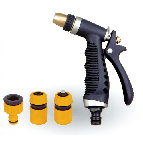 Sada záhradná DY2376 • pištoľ, spojky, adaptér