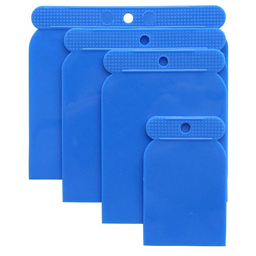 Sada stierok Strend Pro SS080 04 dielna, Plast, 50-80-100-120 mm