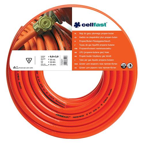 Hadica Cellfast 20-001, LPG 9,0x3,0 mm, L-50 m