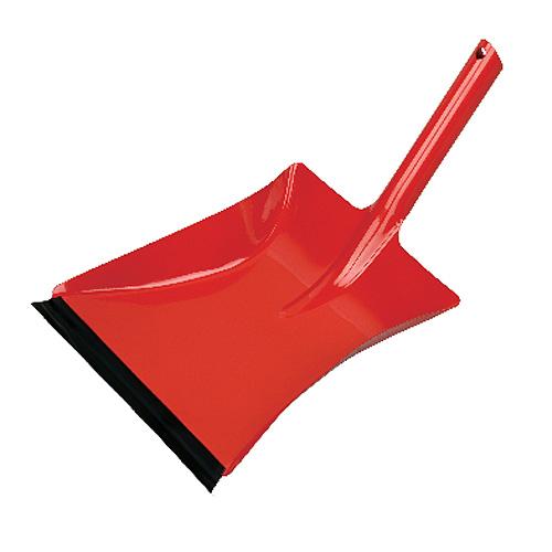 Lopatka Neco 30-0383-15, červená, gumová lišta