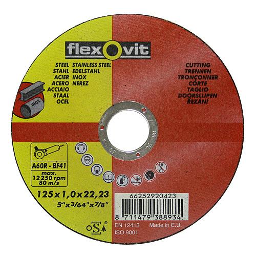 Kotuc flexOvit 20424 125x1,6 A46R-BF41 oceľ, nerez