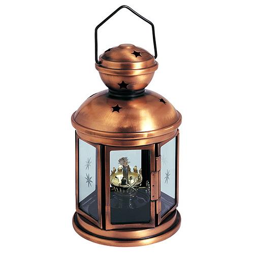 Lampas Nicehome CL0425A, Nightstar, Cu, EN14059, na petrolej