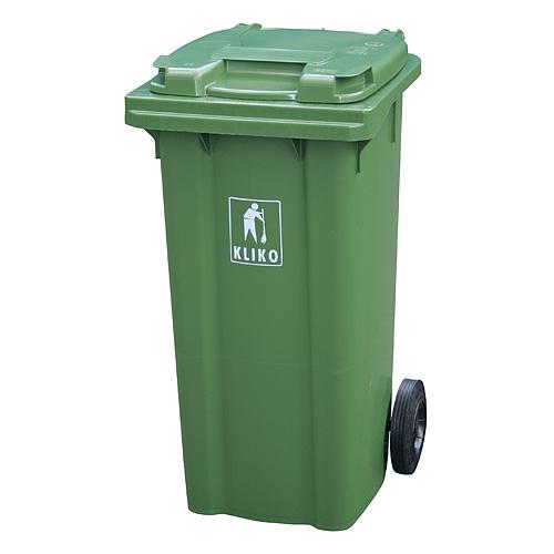 Nadoba MGB 120 lit, plast, zelená