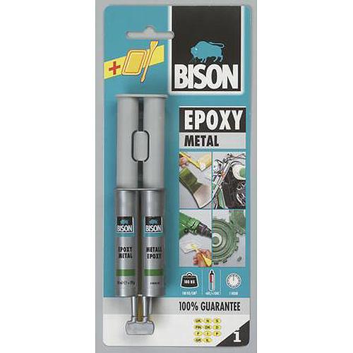 Lepidlo Bison Epoxy Metal, 24 ml