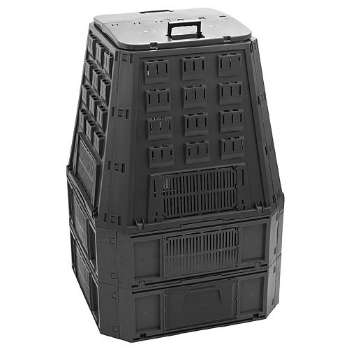 Komposter EVOGREEN, 850 lit, čierny