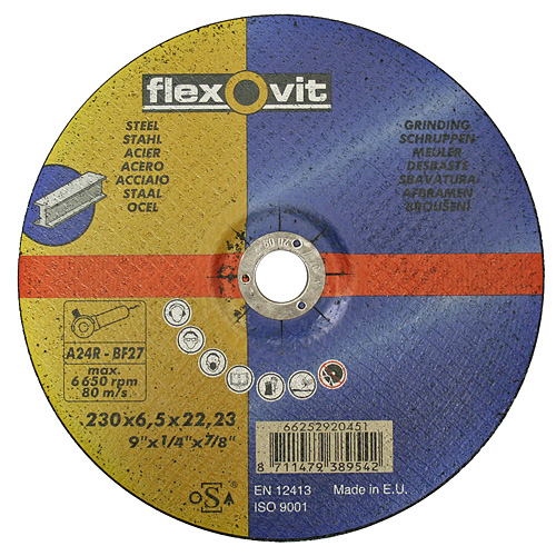 Kotuc flexOvit 20433 115x2,5 A24R-BF42 oceľ