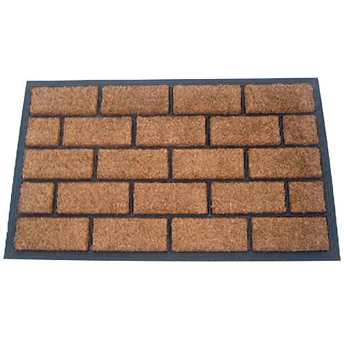 Rohozka MagicHome RBC 124, Brickwall, 45x75 cm, guma/kokos