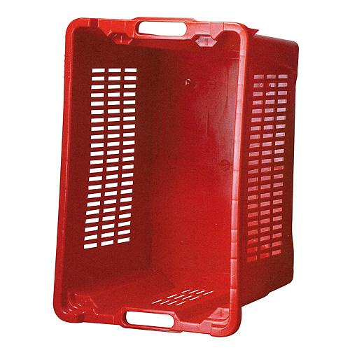 Prepravka ICS M401000 • 40 lit, 56x35x31 cm, perforované steny, červená
