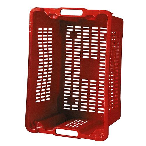 Prepravka ICS M402000 • 40 lit, 56x35x31 cm, perforovaná, červená