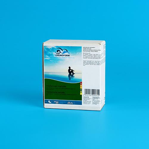 Pripravok Chemoform 0908, Vločkovacia kartuša, 8x125 g