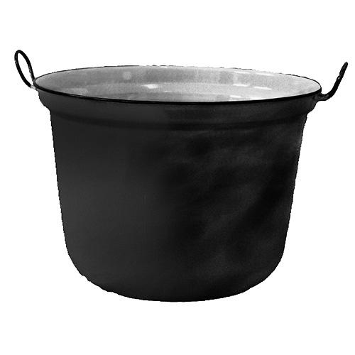 Kotol Thorma 60 lit, smalt, čierny