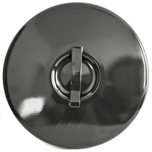 Pokrievka Thorma 12 lit, smaltovaná, čierna