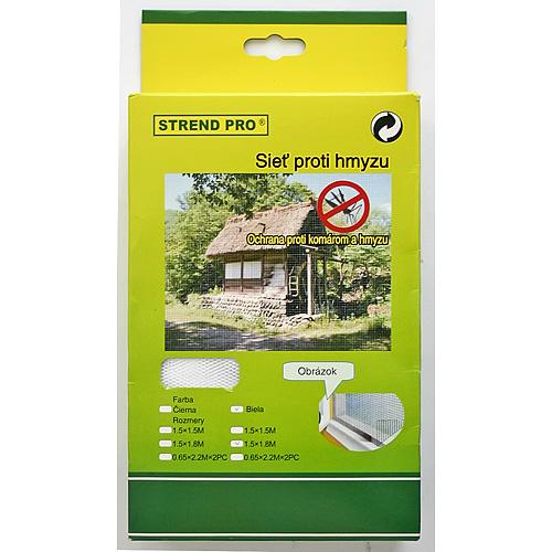 Siet FlyScreen2 150x090 cm, proti hmyzu, čierna PE