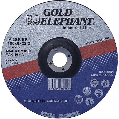 Kotuc Gold Elephant 27A T27 125x6,0x22,2 mm, brúsny, kov, oceľ