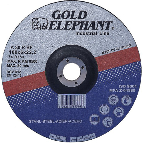 Kotuc Gold Elephant 27A T27 180x6,0x22,2 mm, brúsny, kov, oceľ