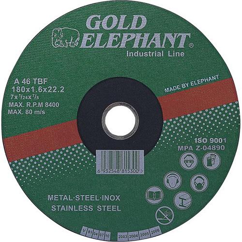Kotuc Gold Elephant 41AA 230x1,9x22,2 mm, oceľ, inox, A46TBF