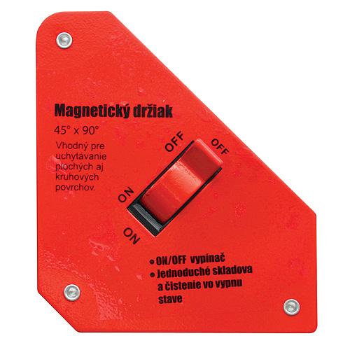 """Drziak STREND PRO QJ6005, uhlový 4-3/8""""x3-3/4""""x1"""", 12 kg, ON/OFF"""