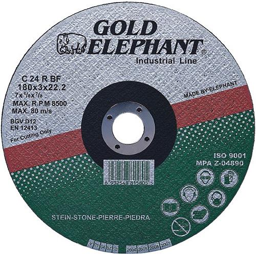 Kotuc Gold Elephant 42C T42 180x2,5x22,2 mm, kameň