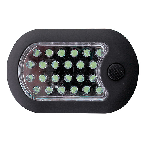 Svietidlo Worklight LED24, 24+3LED, + 3xAAA batérie, s magnetom