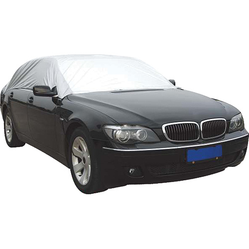 Autoplachta STREND PRO MCA TC106 234x147x51 cm, (S) PE, strieborná