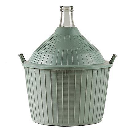 Demizon Cada Inco 54 lit, sklo/plast, 650x520/405 mm