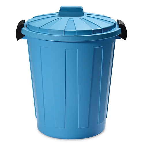 Kos DEAhome Ladybin 45 lit, modrý, na odpad (DOPREDAJ)