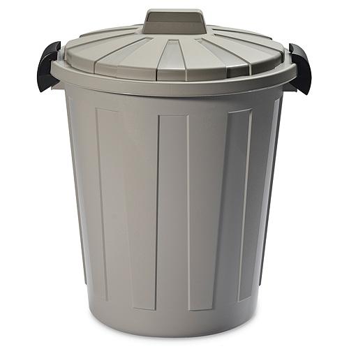 Kos DEAhome Ladybin 25 lit, šedý, na odpad