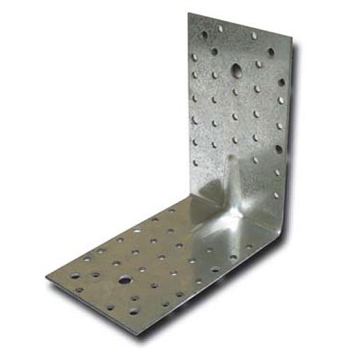 Uholnik MA1173, 130x130x100/2,5 mm, Zn, zosilnený