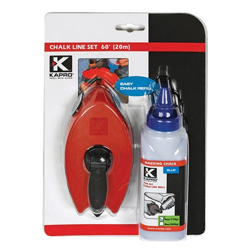 Šnúra murárska KAPRO® 211, 30 m, Easygrip™, modrý púder