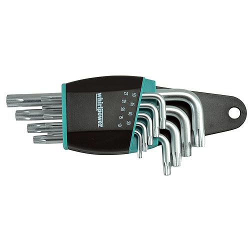 Sada kľúčov whirlpower® 158-1109, 9 dielna, Torx