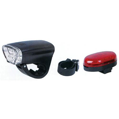 Svietidlo BiCycleLight 0502070, 3xAA, + zadné svetlo 2AA