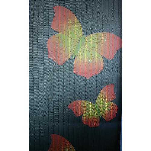 Magnetická sieť proti hmyzu Strend Pro, 218x96 cm, s motýlím vzorom