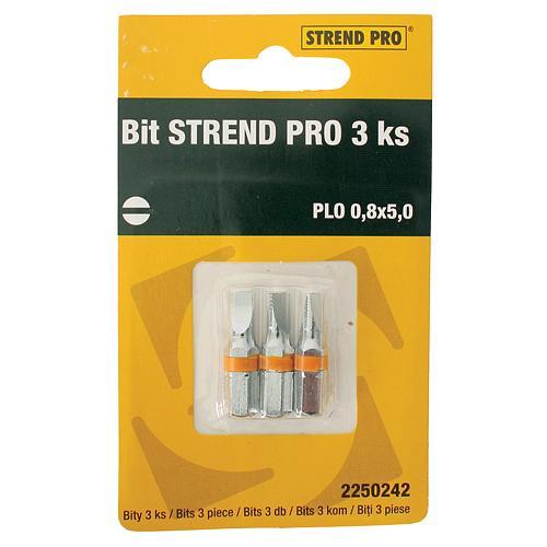 Bit STREND PRO, PLO 0,8x5,0, bal. 3 ks